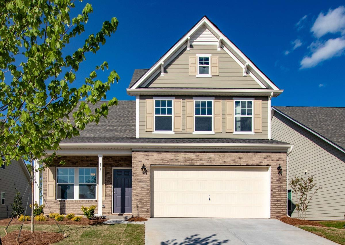 Exterior featured in The Tate By True Homes - Charlotte in Charlotte, NC
