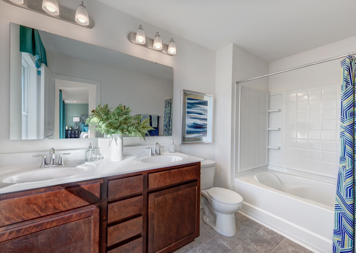 Bathroom featured in The Lenox By True Homes - Charlotte in Charlotte, NC