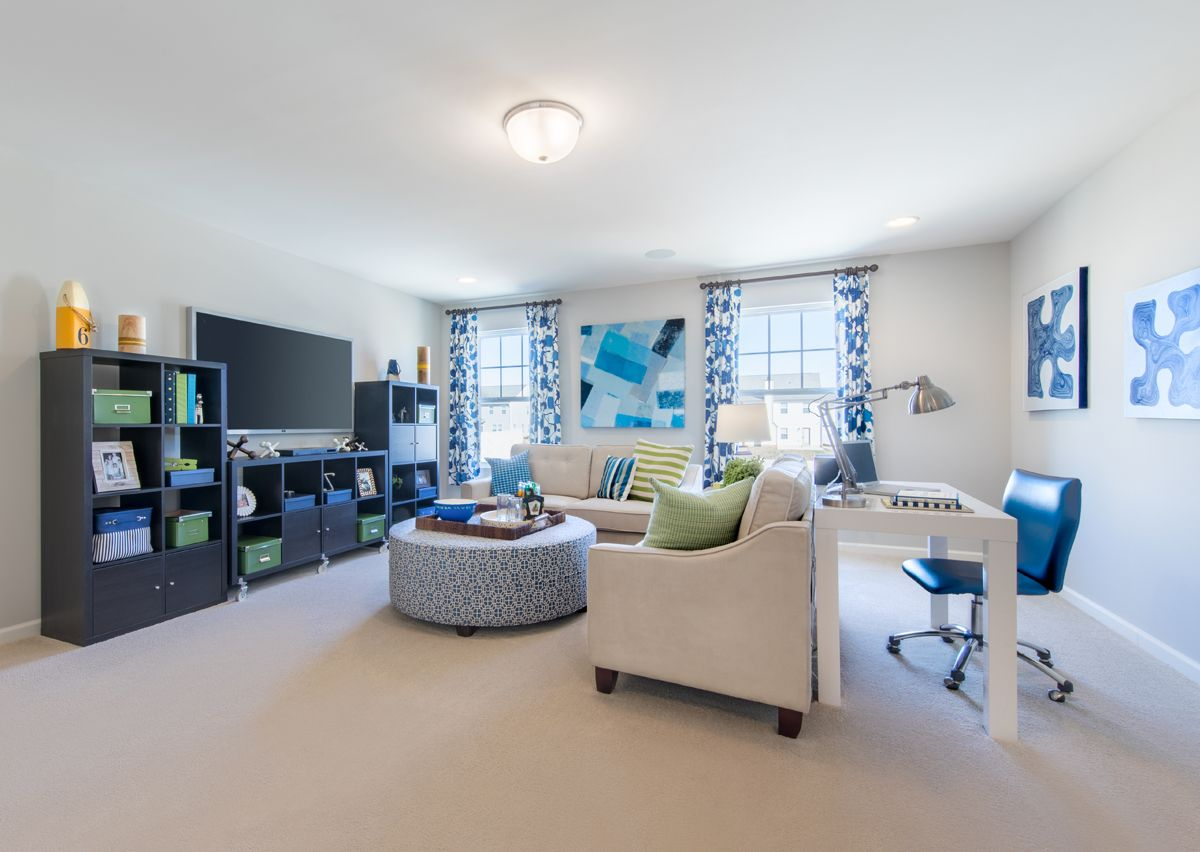 Living Area featured in The Lenox By True Homes - Charlotte