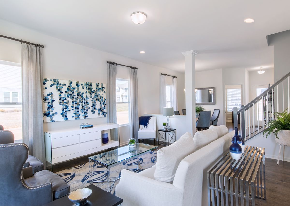 Living Area featured in The Lenox By True Homes - Charlotte in Charlotte, NC