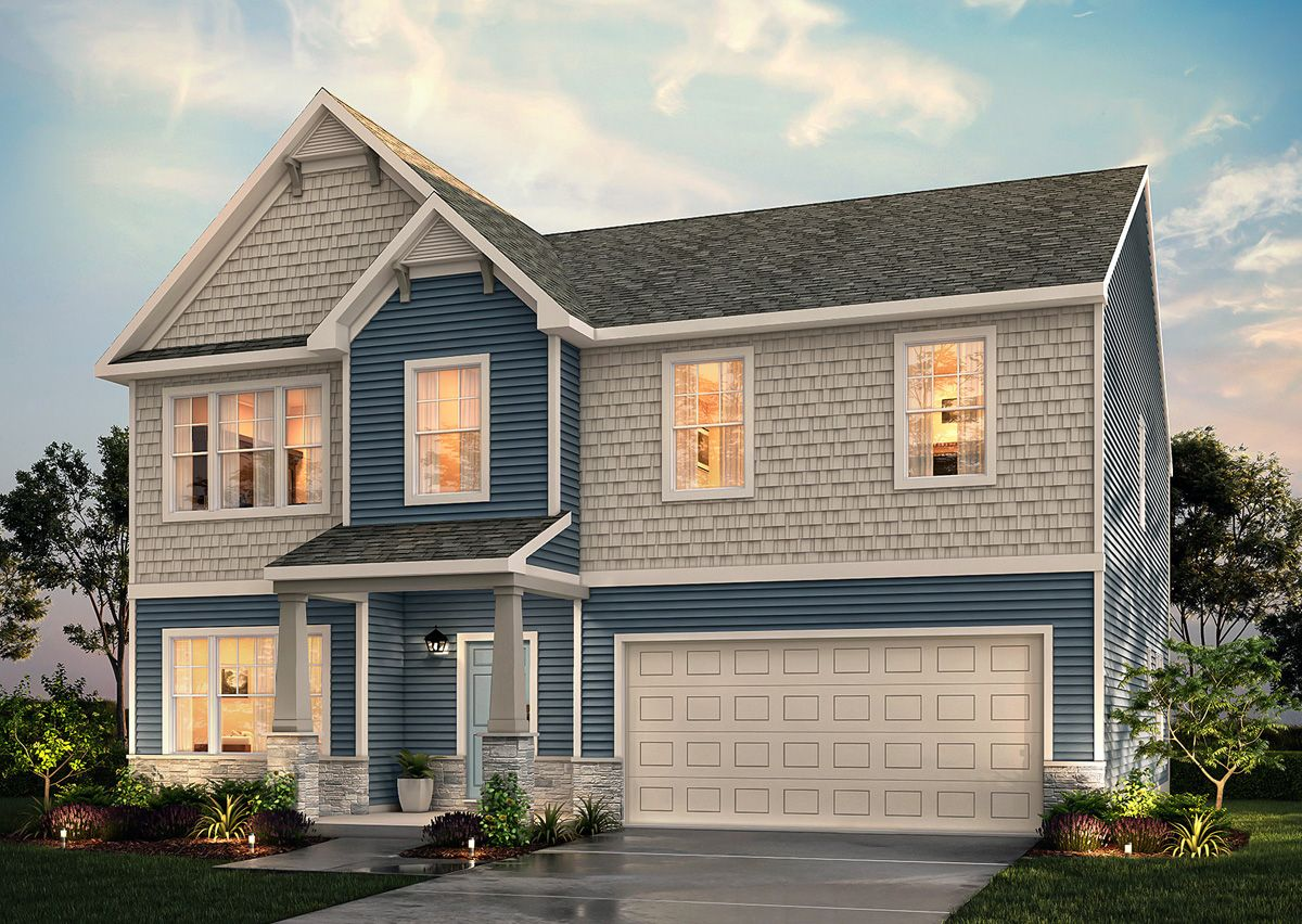 Exterior featured in The Riley By True Homes - Charlotte in Charlotte, NC
