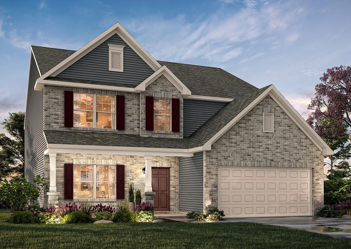 Exterior featured in The Wakefield By True Homes - Raleigh in Raleigh-Durham-Chapel Hill, NC