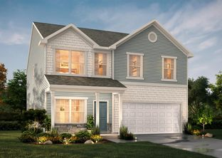 The Lenox - Reedy Fork - Oakgate: Greensboro, North Carolina - True Homes - Triad