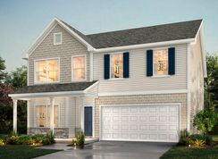 The Huntley - Wrenn Farm Village: Jamestown, North Carolina - True Homes - Triad