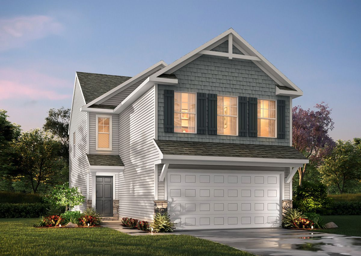 Exterior featured in The Baxter By True Homes - Triad in Greensboro-Winston-Salem-High Point, NC