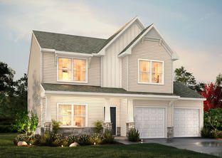 The Hudson - Reagan Village: Pfafftown, North Carolina - True Homes - Triad