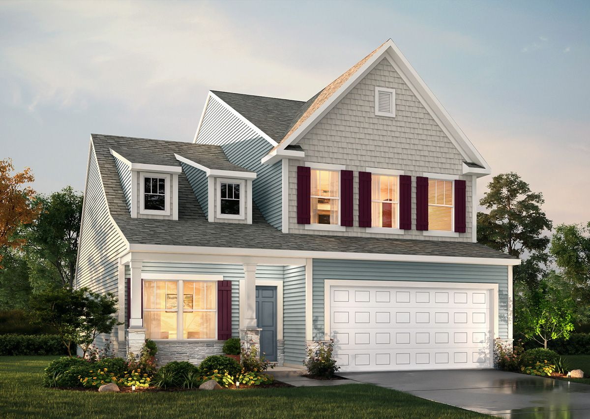Exterior featured in The Tate By True Homes - Charlotte in Greensboro-Winston-Salem-High Point, NC
