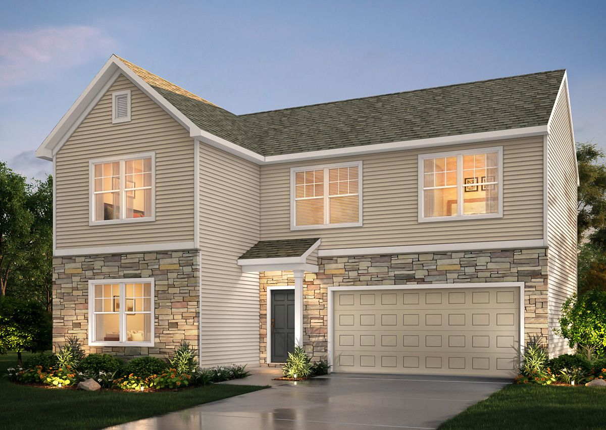 Exterior featured in The Charlotte By True Homes - Triad in Greensboro-Winston-Salem-High Point, NC