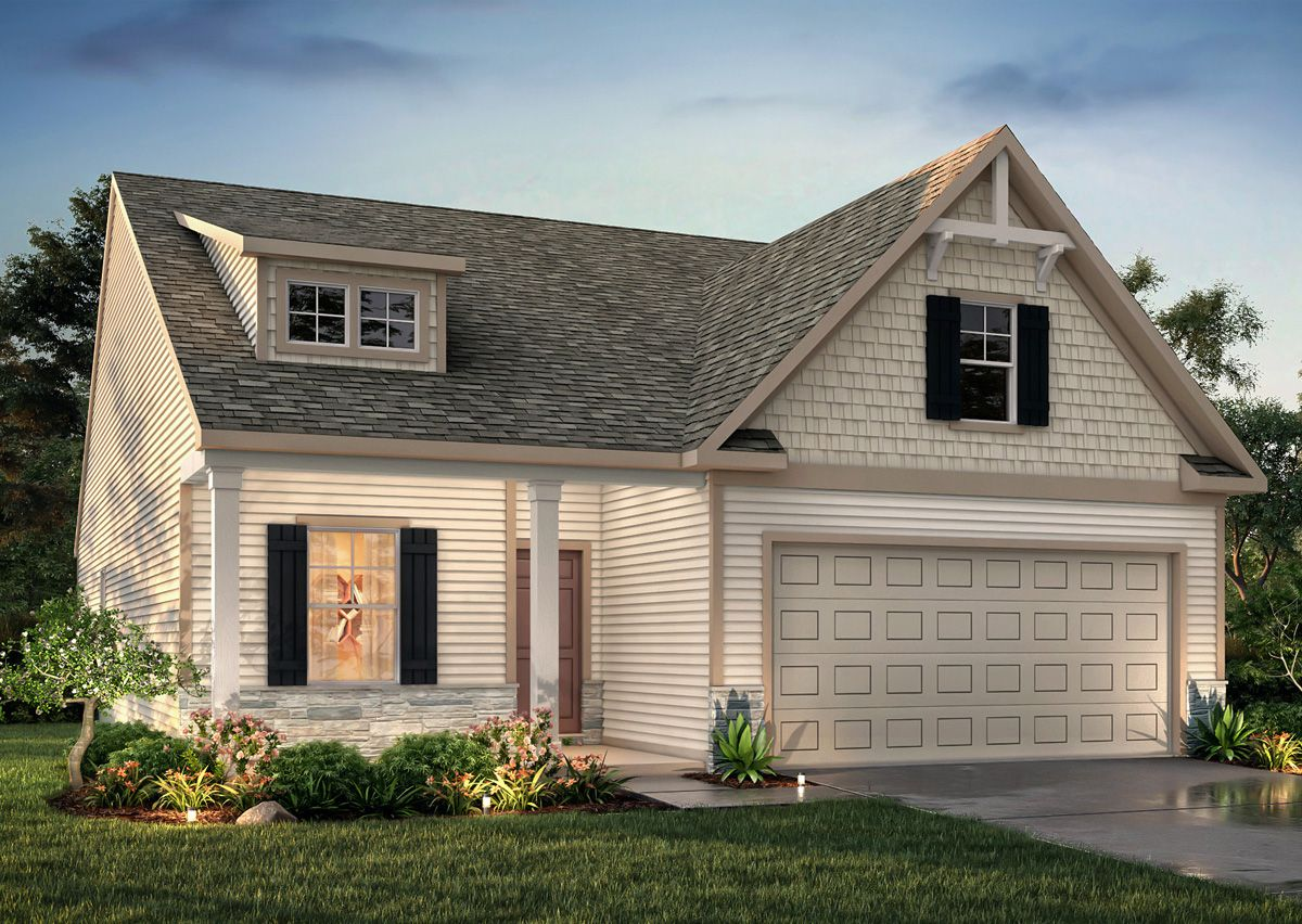 Exterior featured in The Dobson By True Homes - Triad in Greensboro-Winston-Salem-High Point, NC
