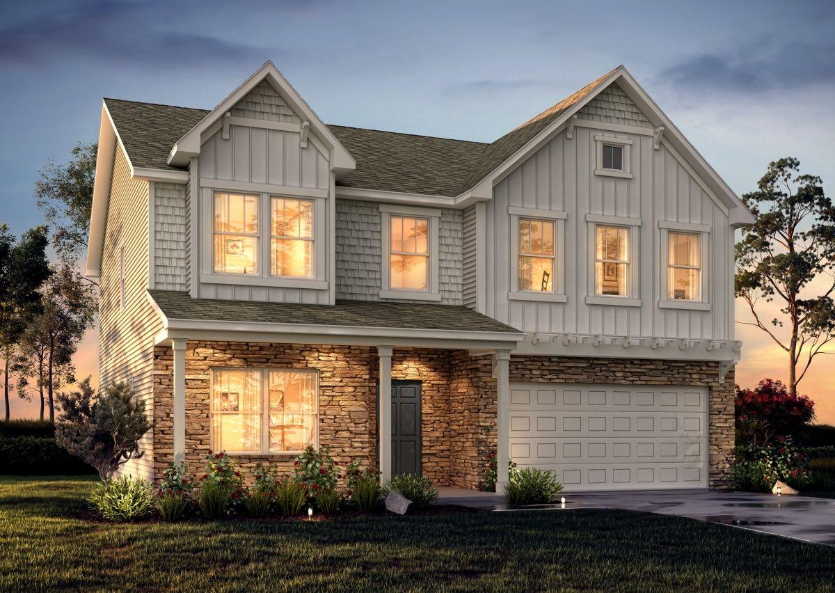 'Reedy Fork - Oakgate' by True Homes - Triad in Greensboro-Winston-Salem-High Point