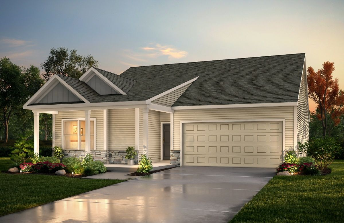 Exterior featured in The Milo By True Homes - Charlotte in Greensboro-Winston-Salem-High Point, NC