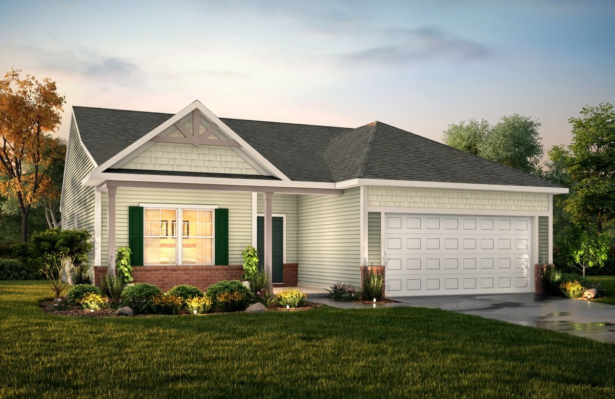 Exterior featured in The Ryker By True Homes - Charlotte in Greensboro-Winston-Salem-High Point, NC