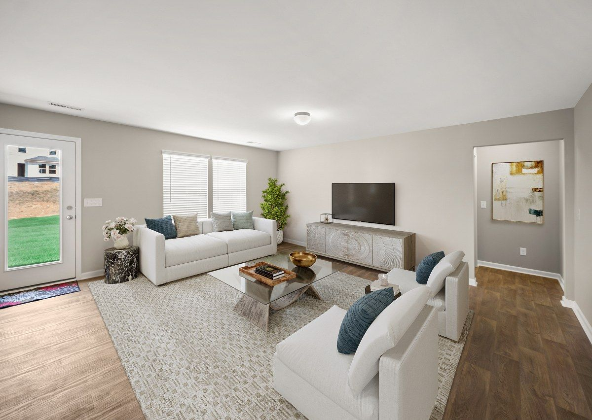 Living Area featured in The Milo By True Homes - Raleigh in Raleigh-Durham-Chapel Hill, NC
