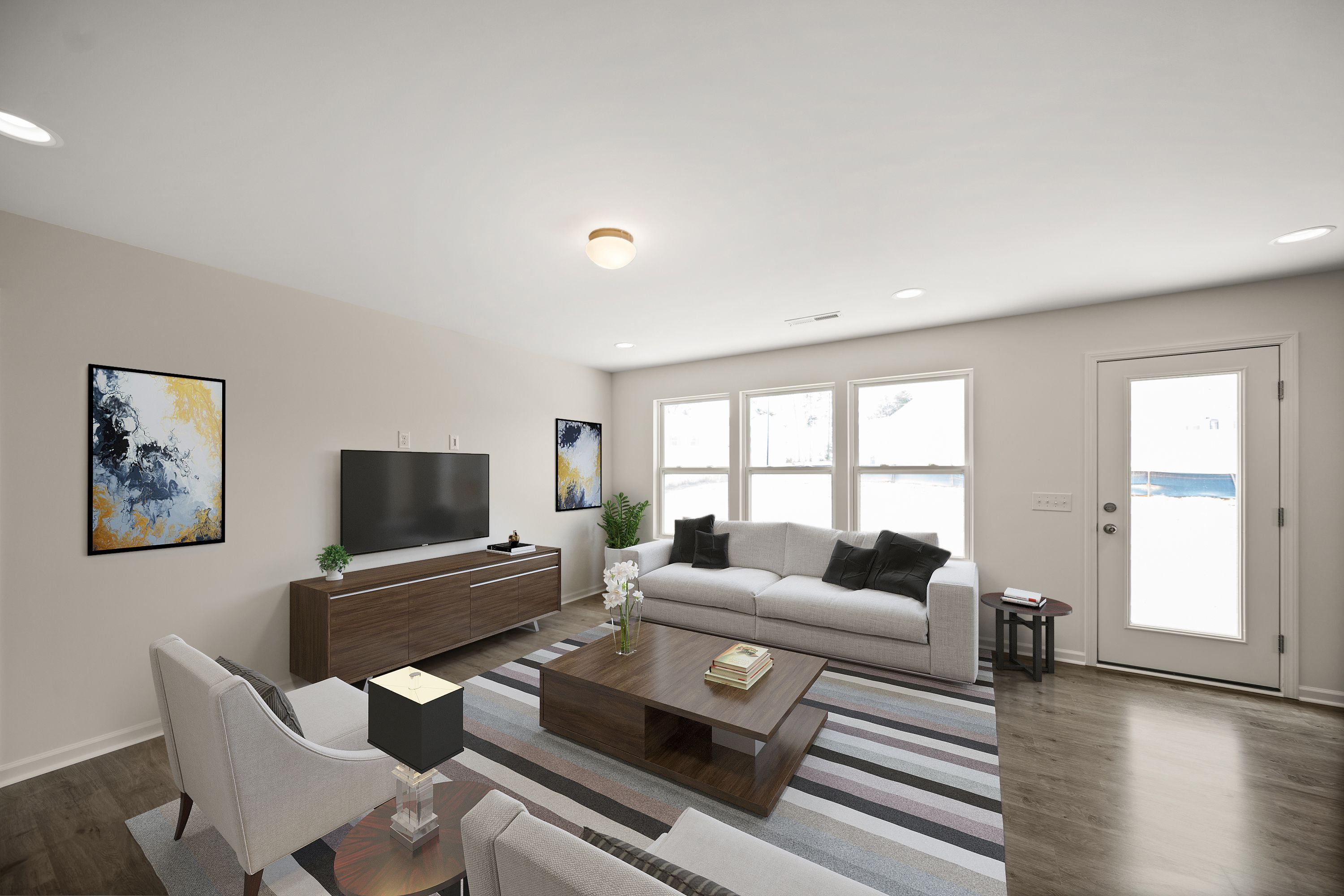 Living Area featured in The Ryker By True Homes - Charlotte