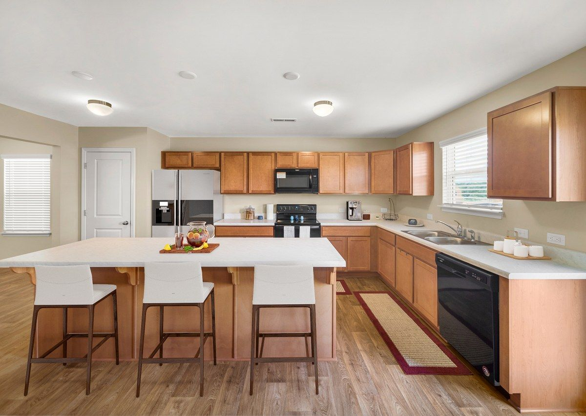 Kitchen featured in The Milo By True Homes - Charlotte in Greensboro-Winston-Salem-High Point, NC