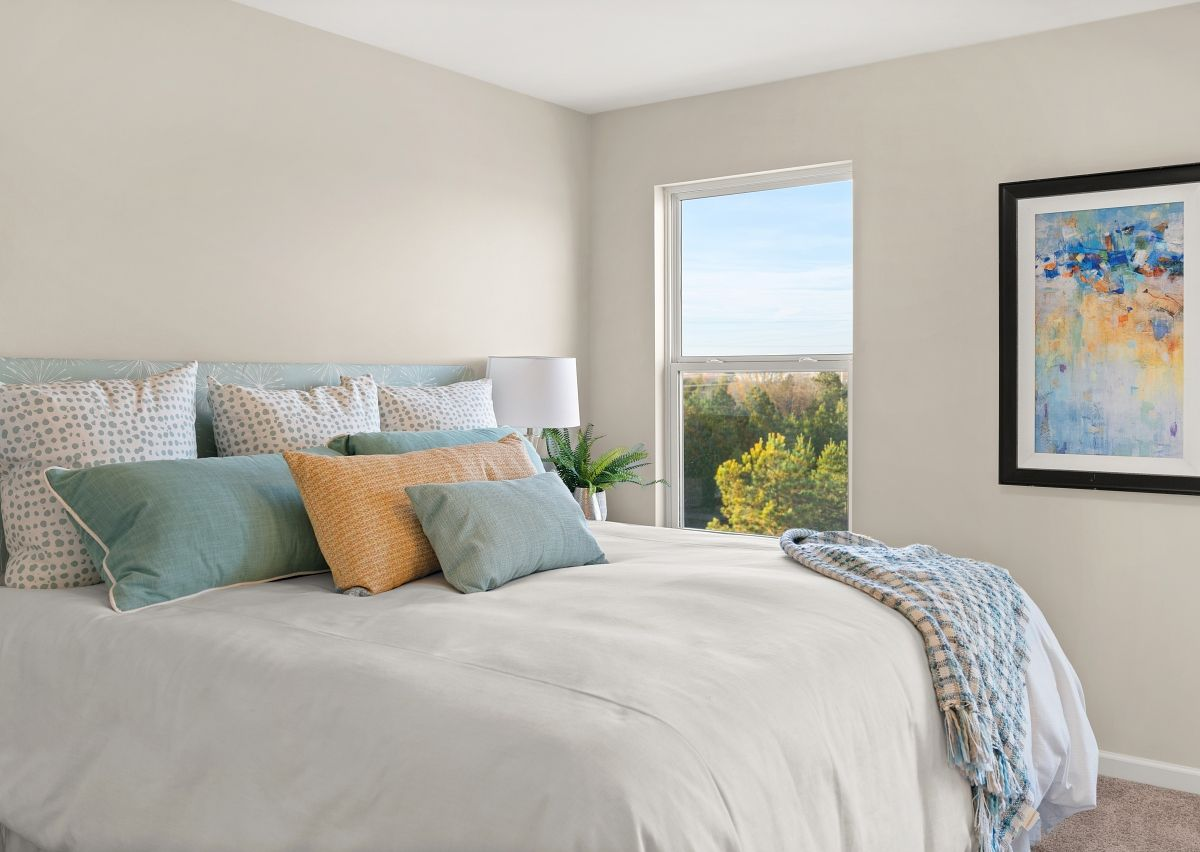 Bedroom featured in The Lucas TH 3st BRT By True Homes - Charlotte in Charlotte, NC