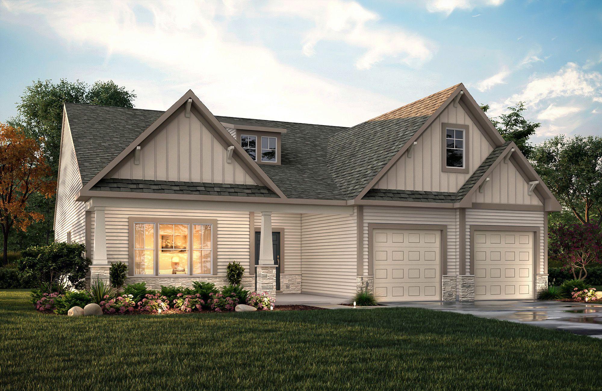 'Boulding Branch Estates' by True Homes - Triad in Greensboro-Winston-Salem-High Point
