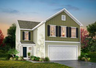 The Knox - Wrenn Farm Village: Jamestown, North Carolina - True Homes - Triad