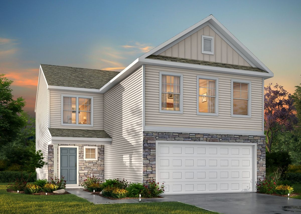 Exterior featured in The Liam By True Homes - Triad in Greensboro-Winston-Salem-High Point, NC