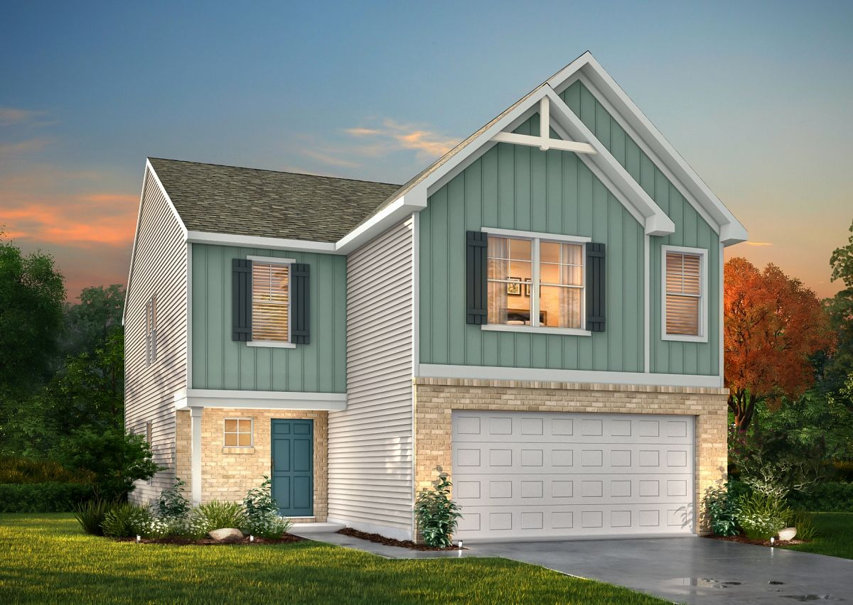 Exterior featured in The Somerset By True Homes - Triad in Greensboro-Winston-Salem-High Point, NC