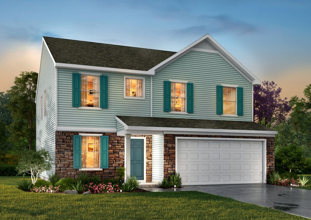 Exterior featured in The Wagner By True Homes - Raleigh in Raleigh-Durham-Chapel Hill, NC