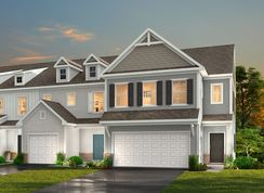 The Elon THCFT - Crossings at Flowers Plantation Townhomes: Clayton, North Carolina - True Homes - Raleigh