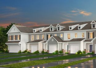 The Longfield THCFT - Crossings at Flowers Plantation Townhomes: Clayton, North Carolina - True Homes - Raleigh