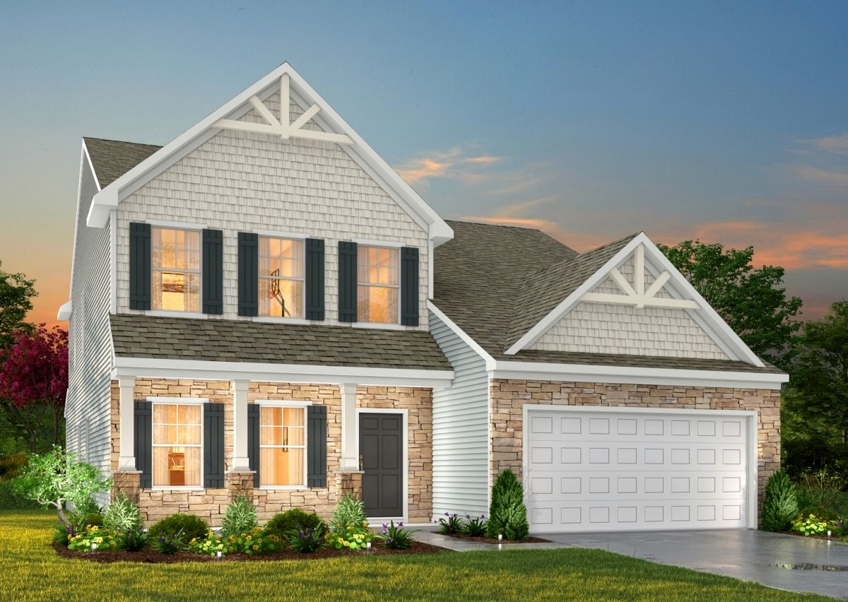 Exterior featured in The Wayne By True Homes - Triad in Greensboro-Winston-Salem-High Point, NC