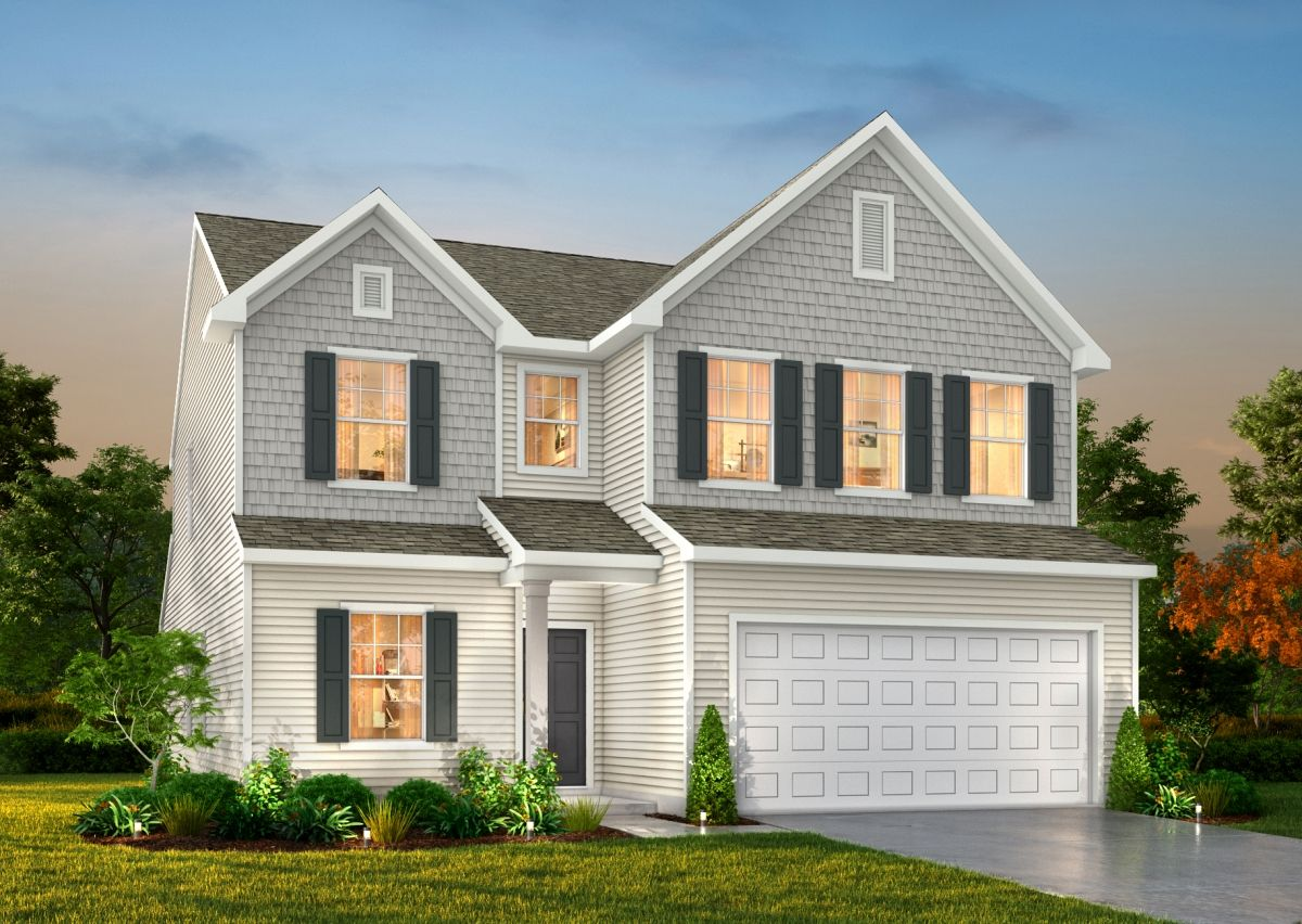 Exterior featured in The Yale By True Homes - Triad in Greensboro-Winston-Salem-High Point, NC