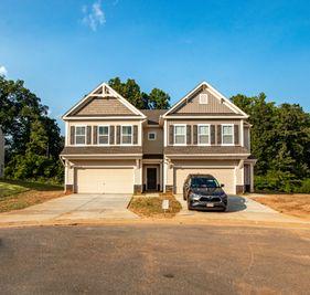 The Elon TH - Wrenn Farm Crossing: High Point, North Carolina - True Homes - Triad