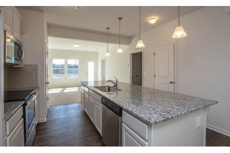 Kitchen-in-The Coronado Townhome-at-Larkin Townhomes-in-Statesville