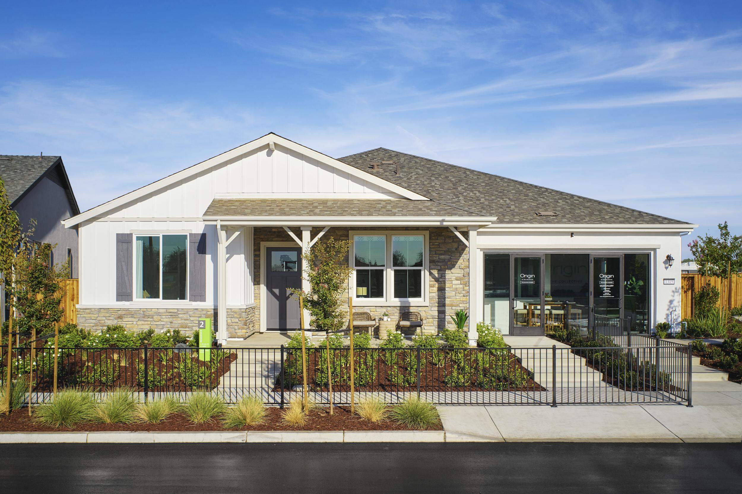 Exterior featured in the Residence 2 By Trumark Homes in Stockton-Lodi, CA