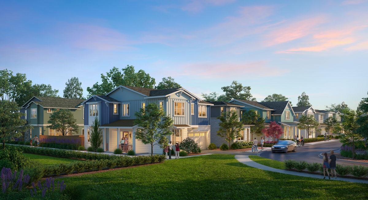 Exterior featured in the Residence 2 -Harmony By Trumark Homes in San Jose, CA