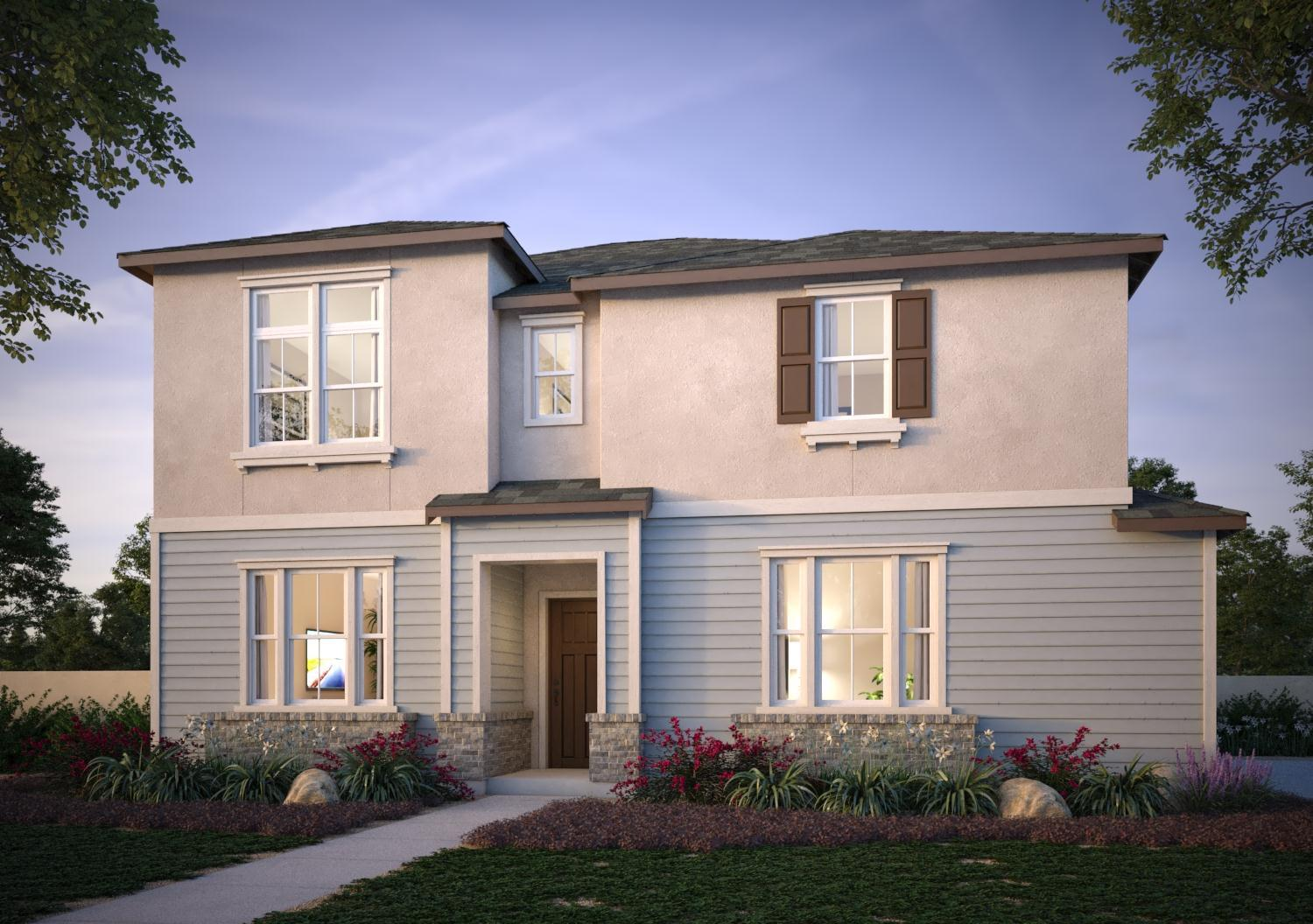 Exterior featured in the Dover Residence 2 By Trumark Homes in Oakland-Alameda, CA
