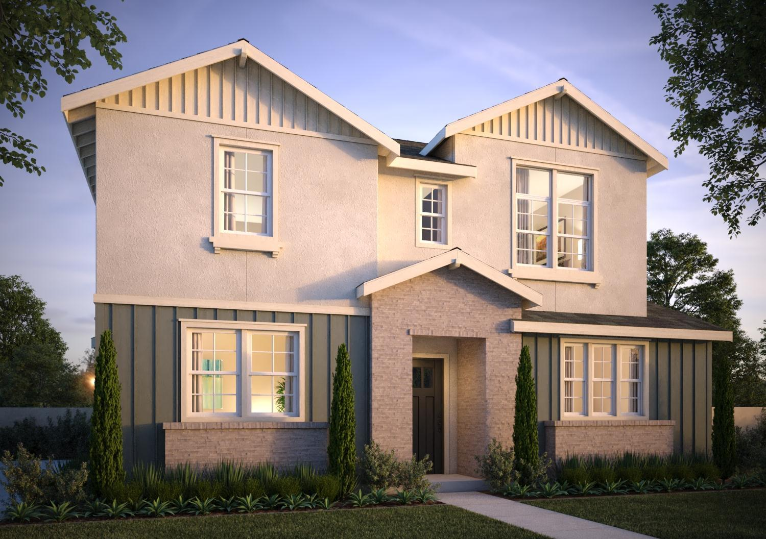Exterior featured in the Dover Residence 4 By Trumark Homes in Oakland-Alameda, CA