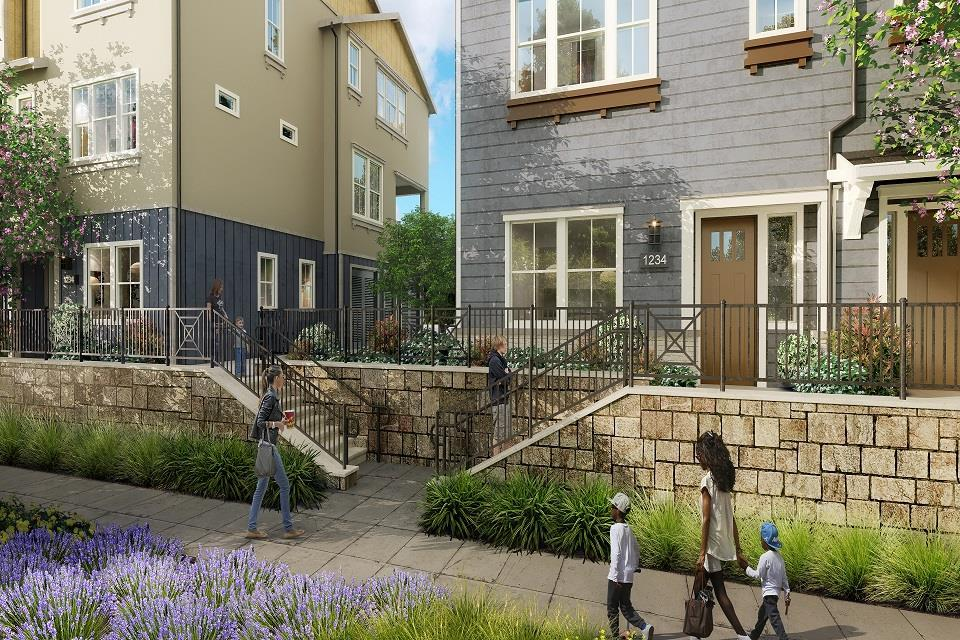 Exterior featured in the Newport Residence 3 By Trumark Homes in Oakland-Alameda, CA