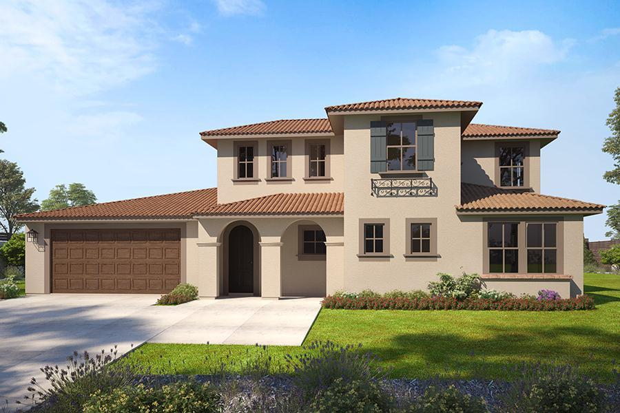 Exterior featured in the Arbors Residence 2X By Trumark Homes in San Diego, CA