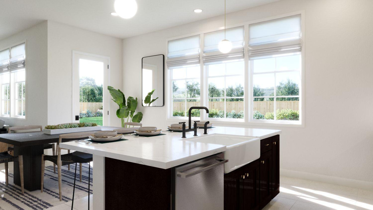 Kitchen featured in the Dover Residence 3 By Trumark Homes in Oakland-Alameda, CA