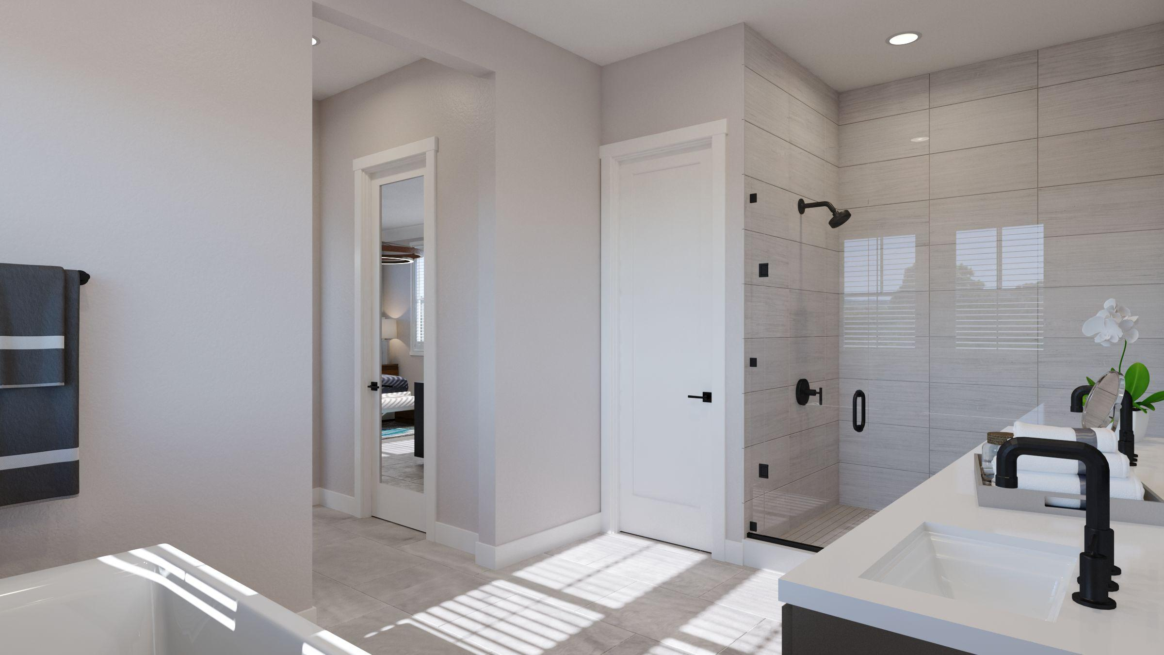 Bathroom featured in the Residence 1 -Harmony By Trumark Homes in San Jose, CA