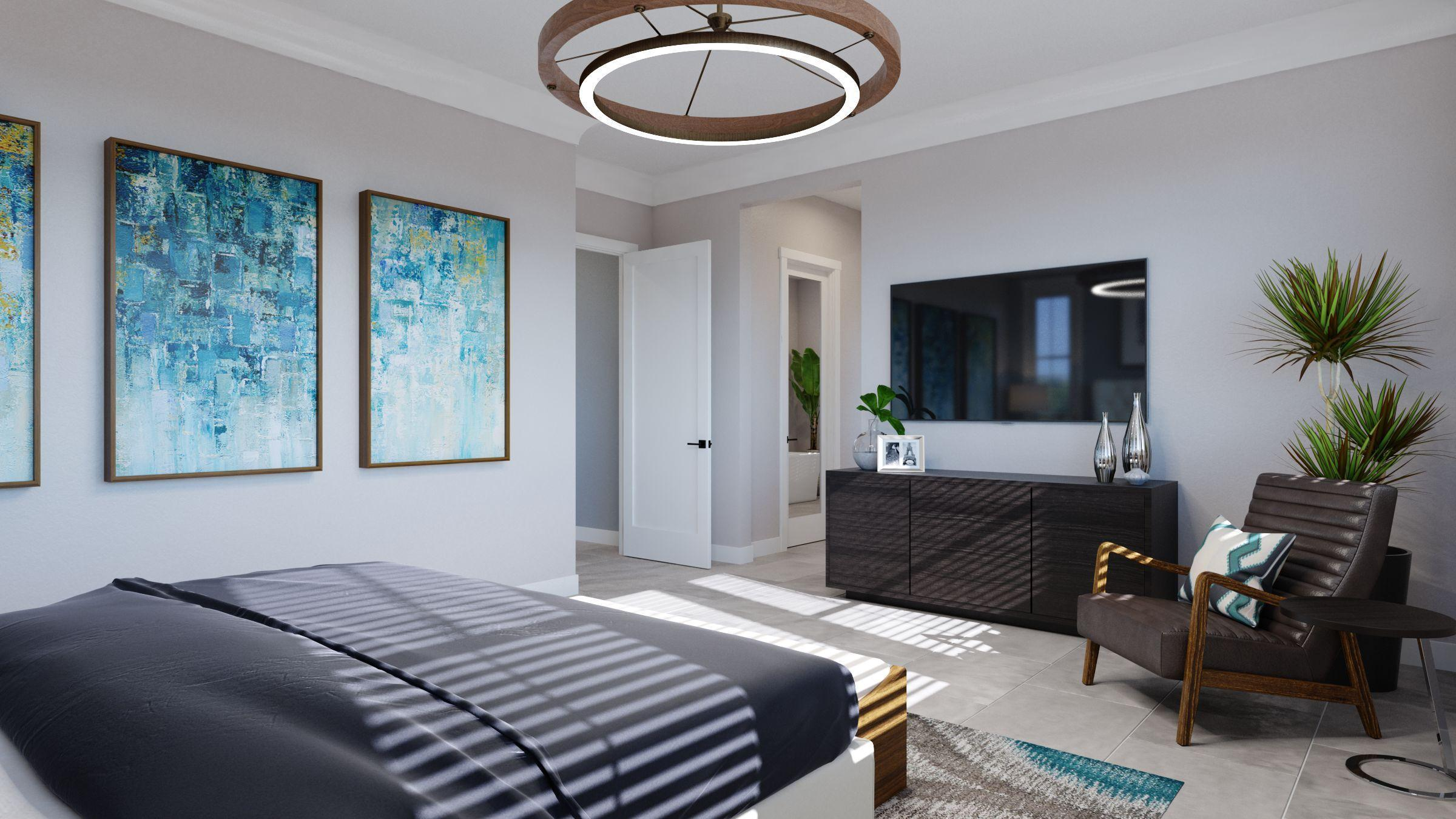 Bedroom featured in the Residence 1 -Harmony By Trumark Homes in San Jose, CA