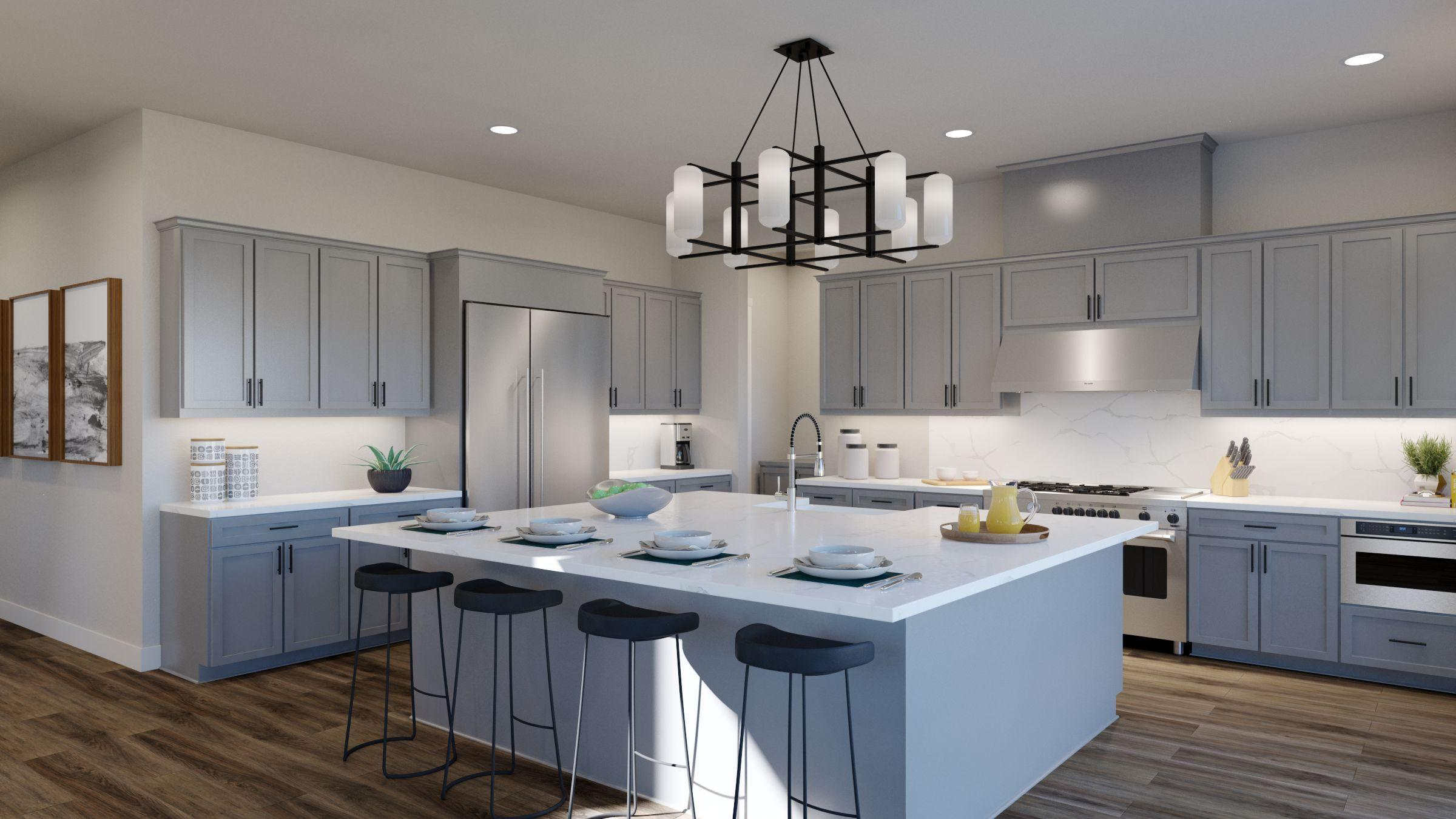 Kitchen featured in the Residence 4 -Harmony By Trumark Homes in San Jose, CA