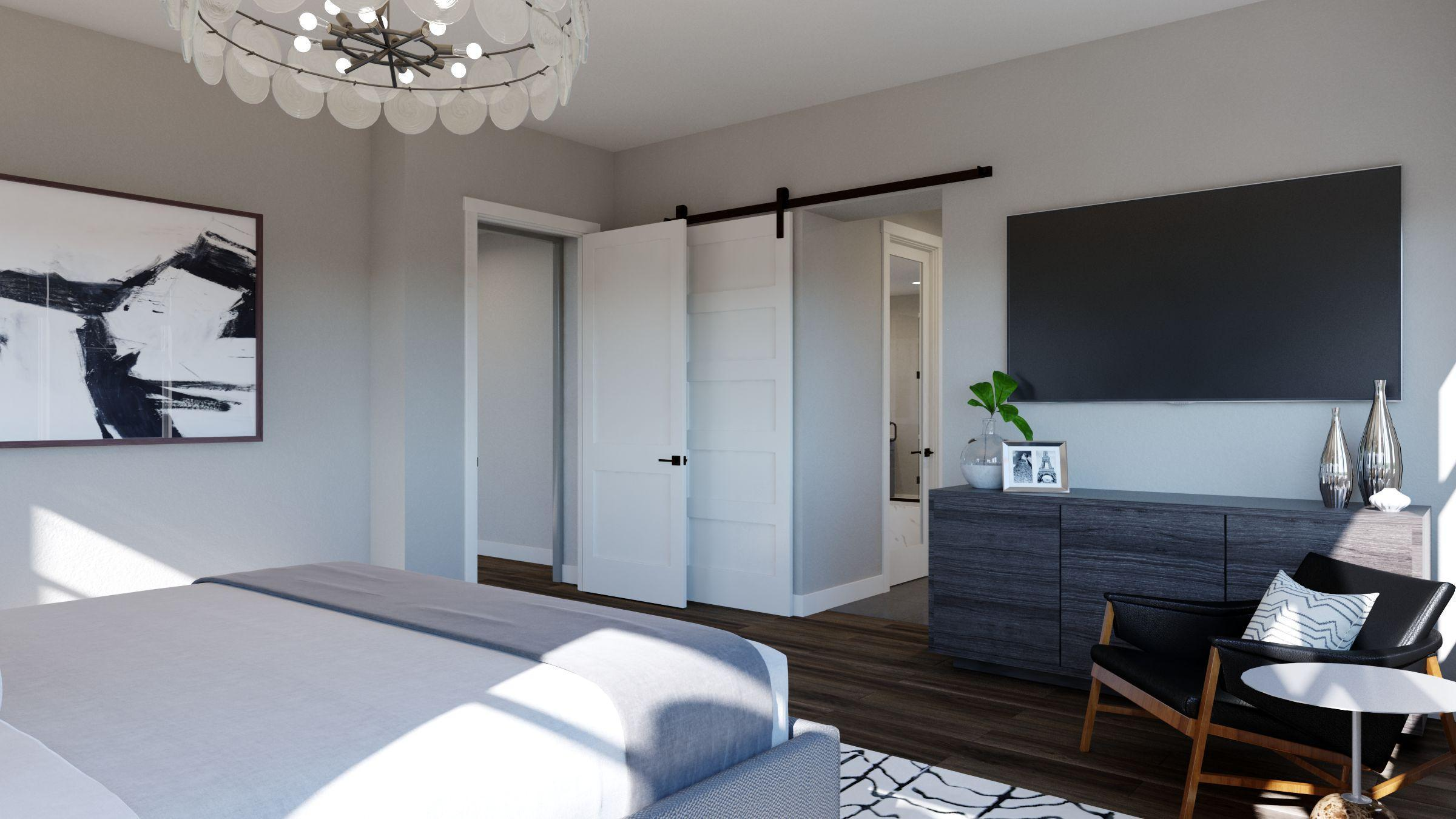 Bedroom featured in the Residence 4 -Harmony By Trumark Homes in San Jose, CA