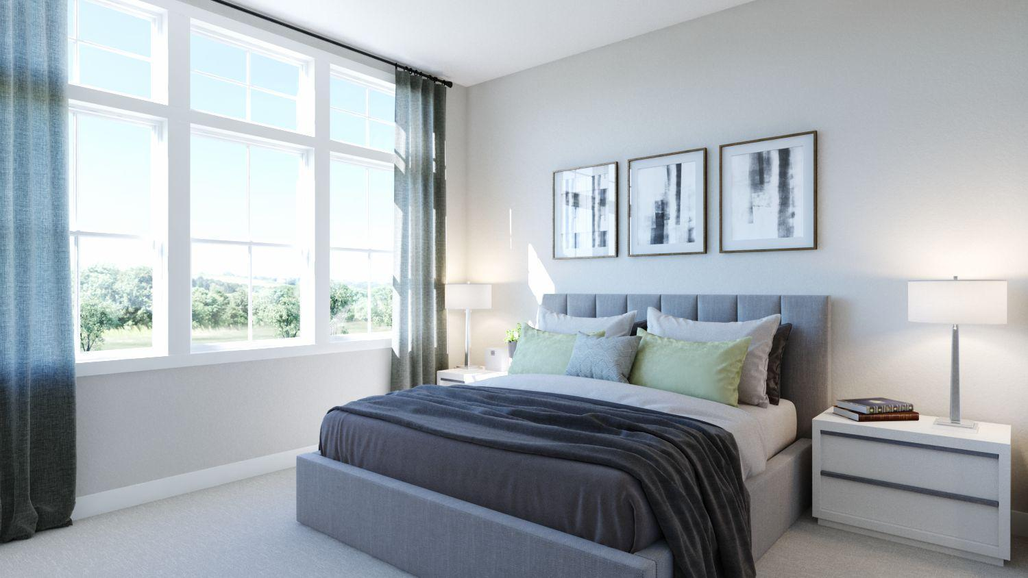 Bedroom featured in the Newport Residence 1 By Trumark Homes in Oakland-Alameda, CA
