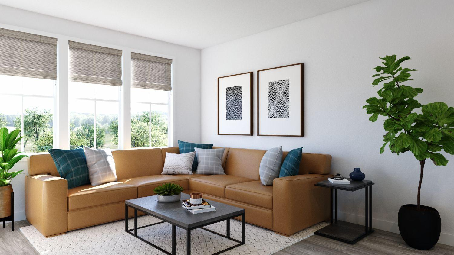 Living Area featured in the Newport Residence 2 By Trumark Homes in Oakland-Alameda, CA