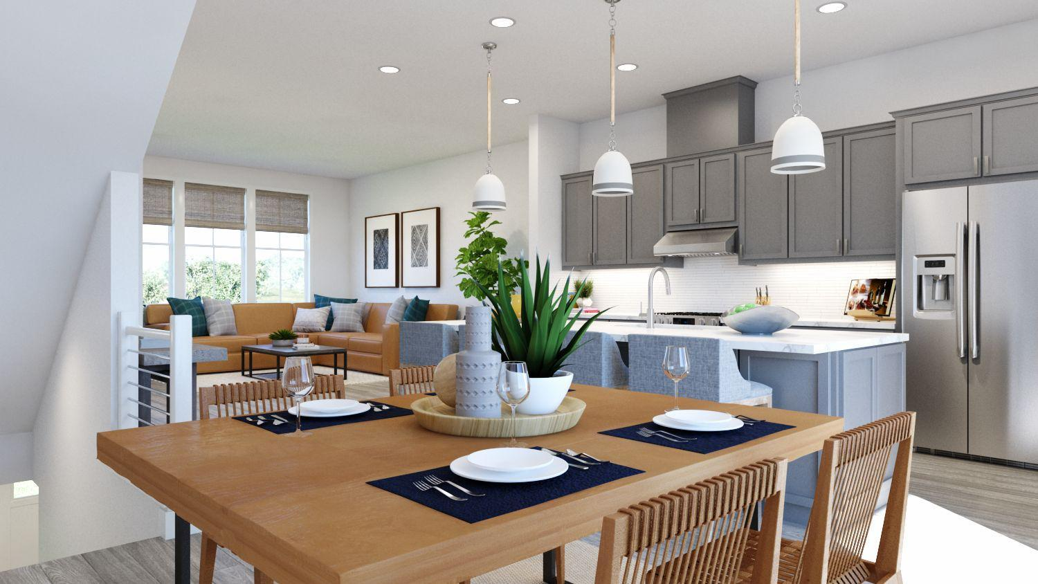 Kitchen featured in the Newport Residence 2 By Trumark Homes in Oakland-Alameda, CA