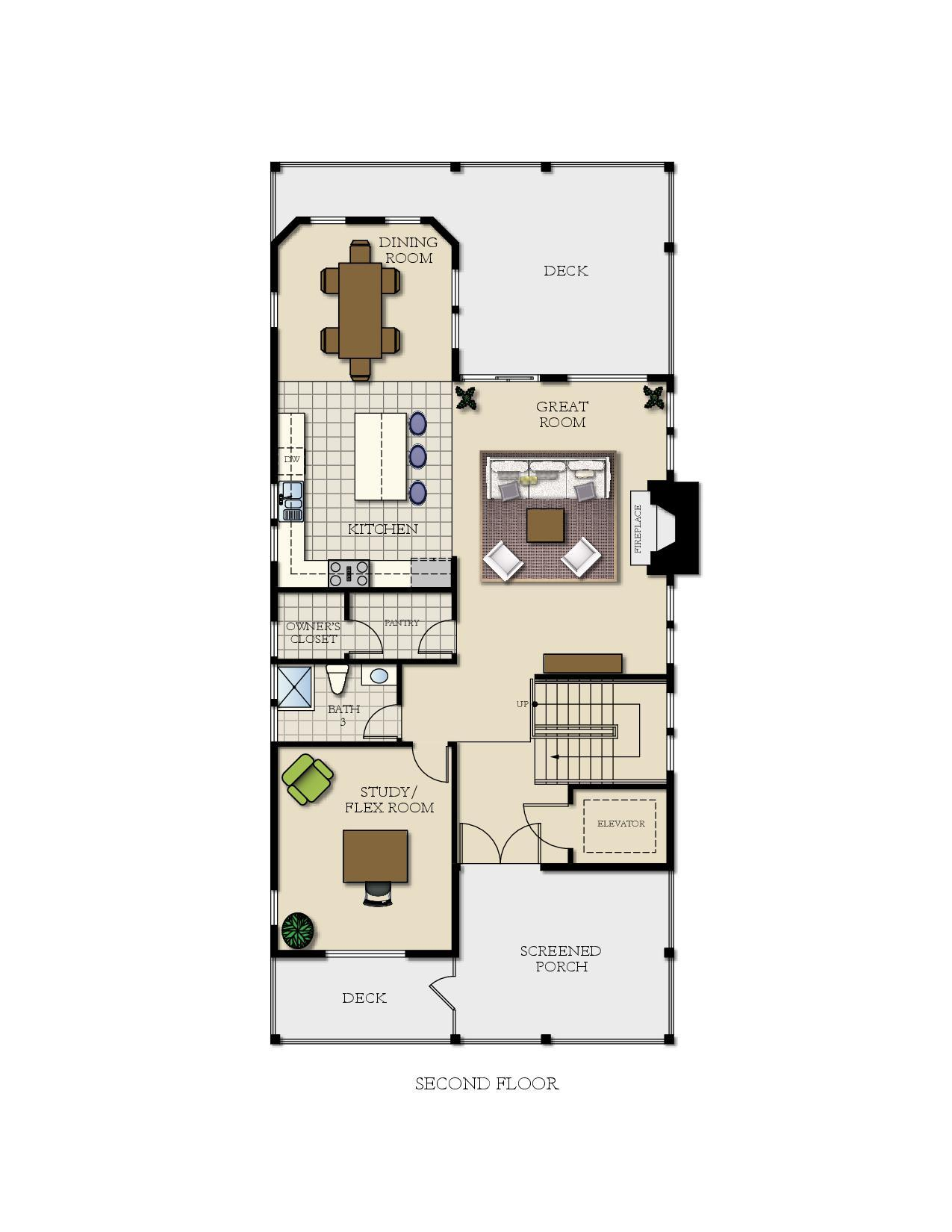The seawatch home plan by turnstone custom homes in 1 for Inverted beach house plans