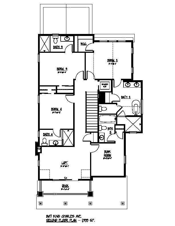 807 King Charles Second Floor Plan