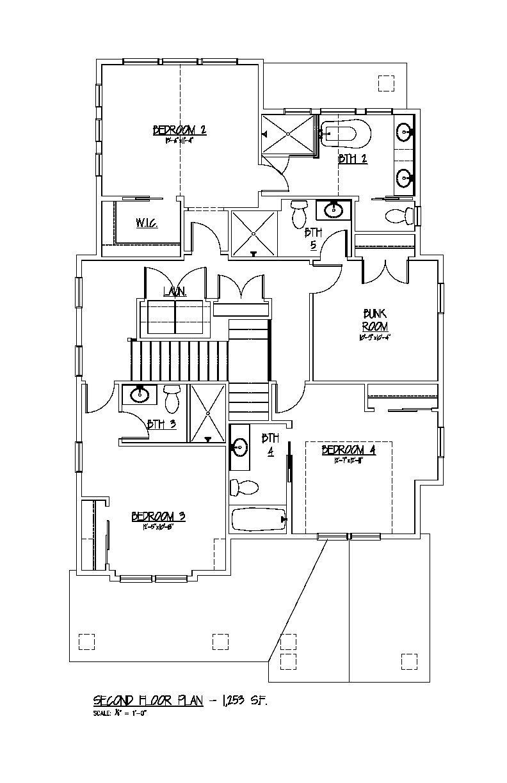 Second Floor Plan - 805 King Charles