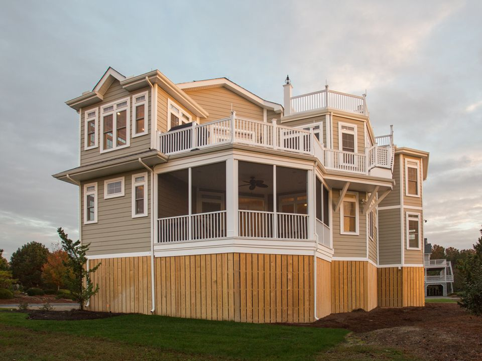 Exterior featured in The Ocean Ridge - Built on Your Lot By Turnstone Custom Homes in Sussex, DE