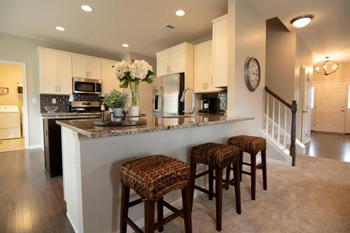 Kitchen-in-Kingston Country-at-Stone Harvest Estates-in-Coopersburg